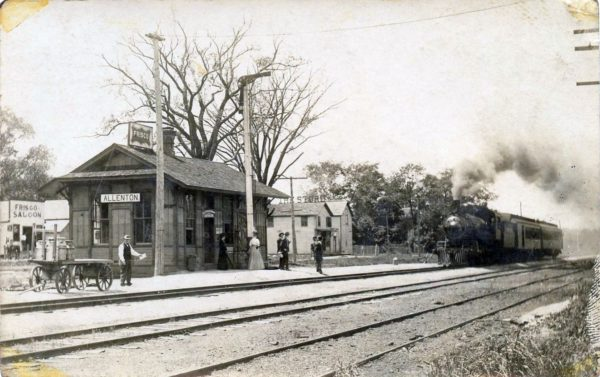 Allenton, Missouri Depot (date unknown) (Corrected)