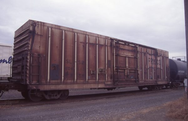 Boxcar 600113 at Pasco, Washington on April 20, 1997 (R.R. Taylor)