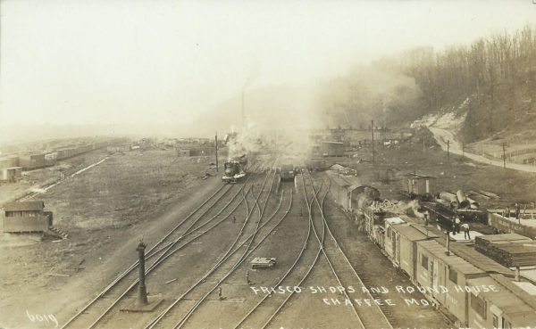 Frisco Shops and Roundhouse - Chaffee, Missouri