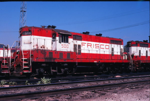 GP7 500 at Springfield, Missouri in September 1978