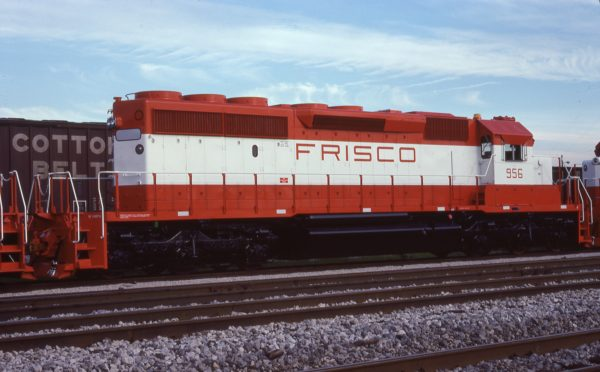SD40-2 956 at Hazel Crest, Illinois on July 16, 1978