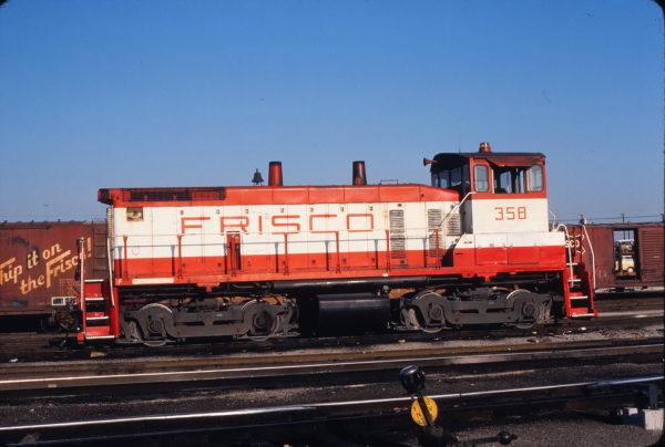 SW1500 358 at Tulsa, Oklahoma on August 23, 1980 (J. Harlen Wilson)
