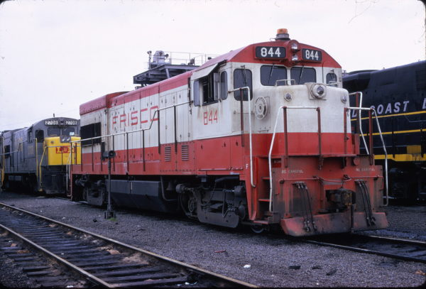 U30B 844 and L&N U30B 2708 at Birmingham, Alabama on May 11, 1974 (Ray Sturges)