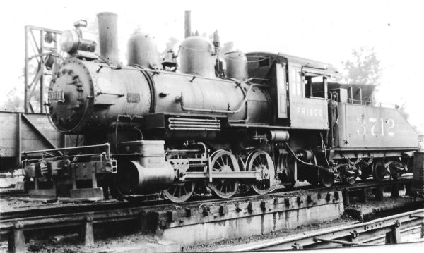 0-6-0 3712 at Fort Smith, Arkansas in September 1929 (Arthur B. Johnson)