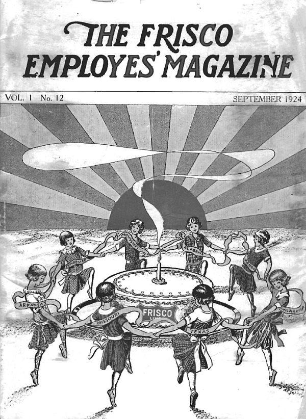 Frisco Employes' Magazine – September 1924
