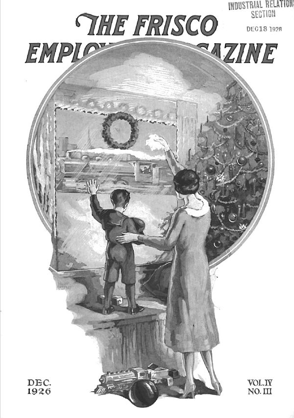 Frisco Employes' Magazine - December 1926