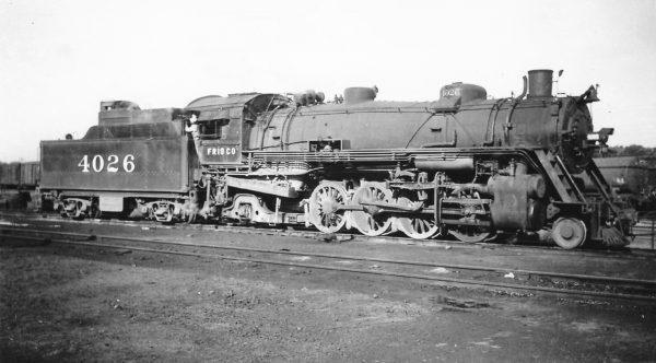 2-8-2 4026 at St. Louis, Missouri on July 15, 1939 (Arthur B. Johnson)