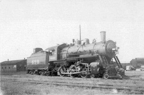 4-6-0 698 at Pensacola, Florida (date unknown) (William Bisshiger)