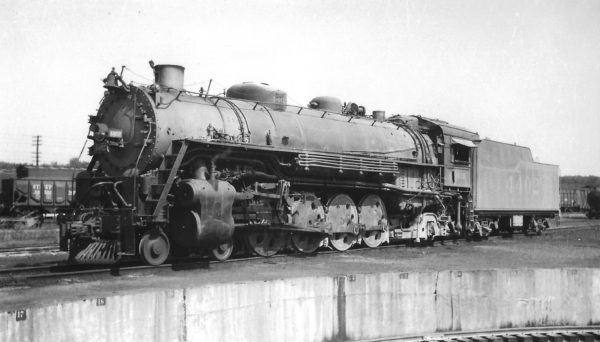 4-8-2 4402 at Monett, Missouri on September 19, 1948 (Arthur B. Johnson)
