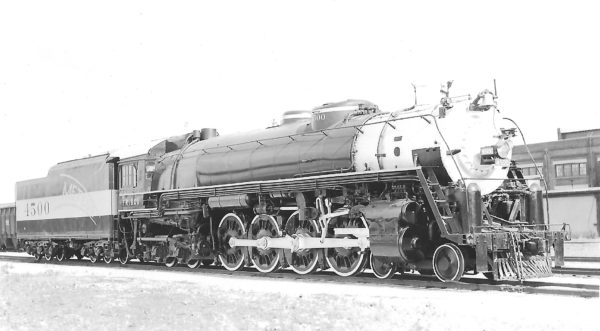 4-8-4 4500 (date and location unknown)