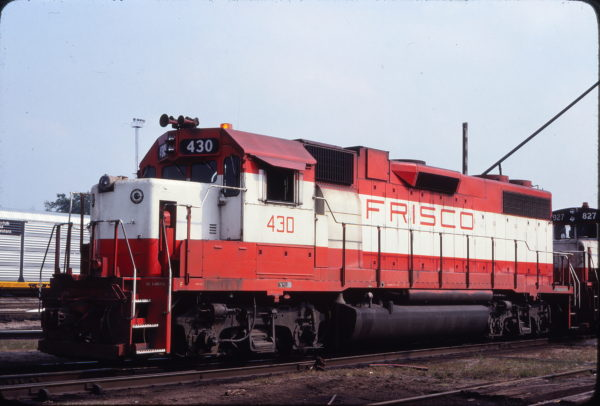 GP38-2 430 at St. Louis, Missouri on July 8, 1979 (Michael Wise)