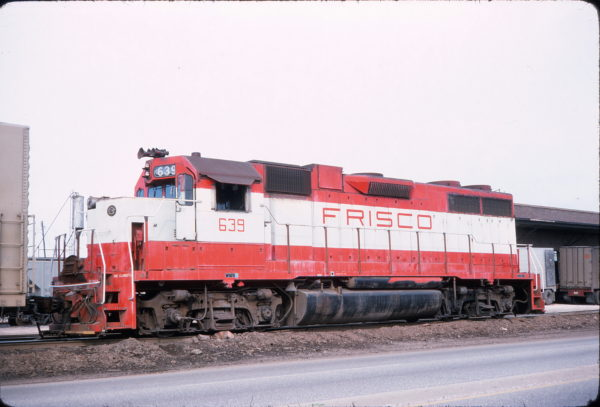 GP38AC 639 (location unknown) in May 1975