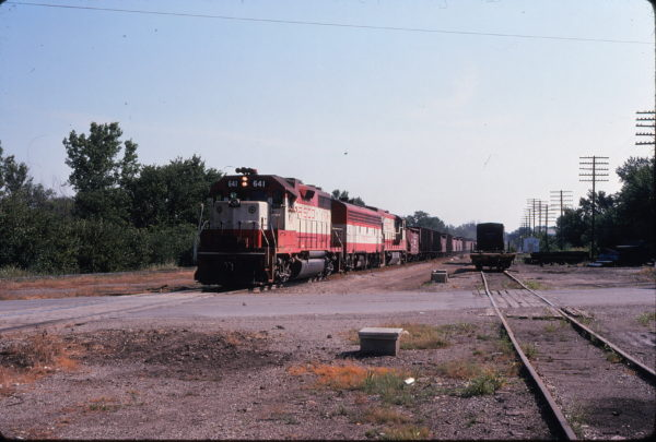 GP38AC 641 (location unknown) in July 1974