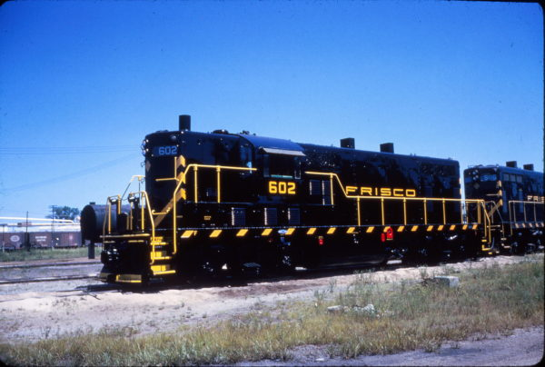 GP7 602 at Fort Smith, Arkansas on August 27, 1962