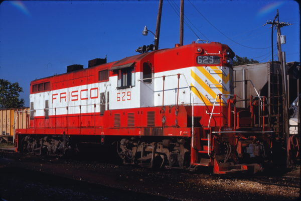 GP7 629 (location unknown) in September 1975