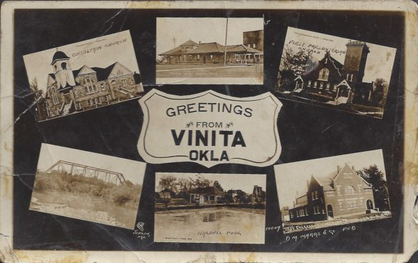 Greetings From Vinita, Oklahoma