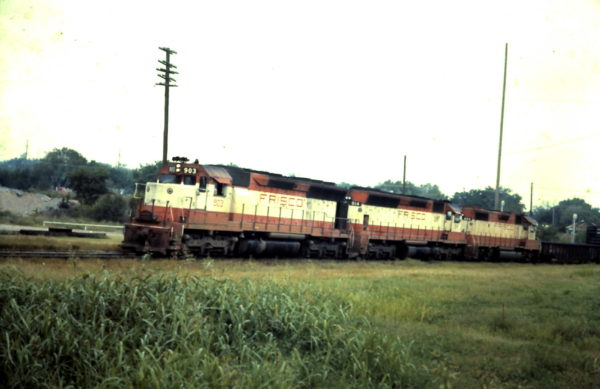 SD45s 903 and 914 (date and location unknown)