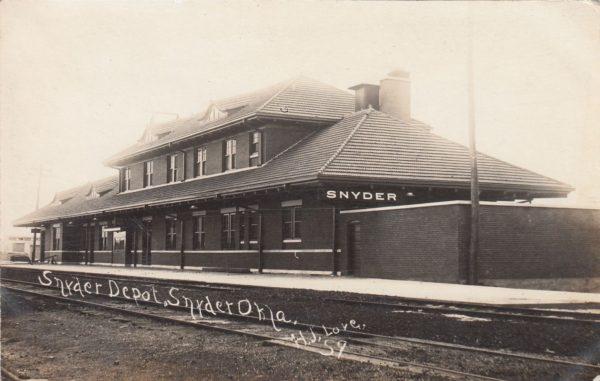 Snyder, Oklahoma Depot