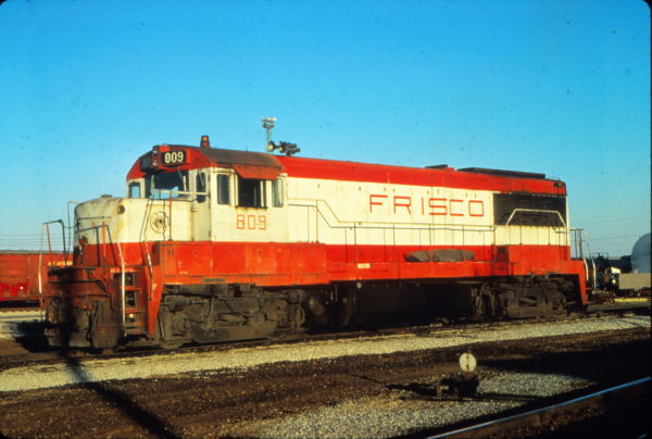 U25B 809 at Memphis, Tennessee in October 1978 (Vernon Ryder)