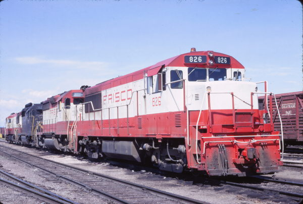 U25B 826 at Cheyenne, Wyoming on May 28, 1967 (Ed Fulcomer)