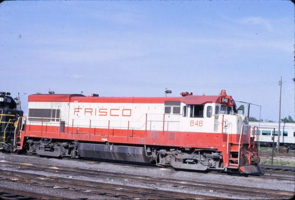 U30B 848 at Birmingham, Alabama in April 1974 (Riley Kinney)
