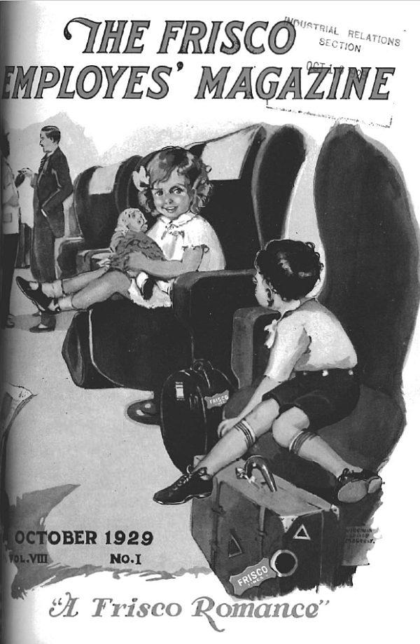 Frisco Employes' Magazine - October 1929