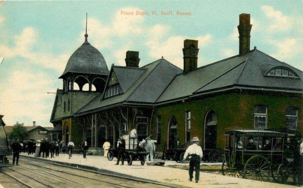 Fort Scott, Kansas Depot (Postcard)