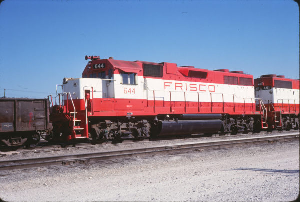 GP38AC 644 at Springfield, Missouri on September 30, 1979 (Allan Ramsey)