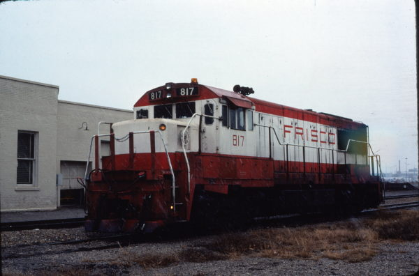 U25B 817 at Lawton, Oklahoma in November 1980