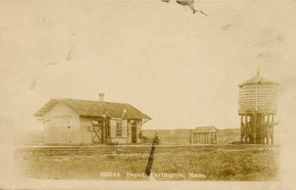 Farlington, Kansas Depot