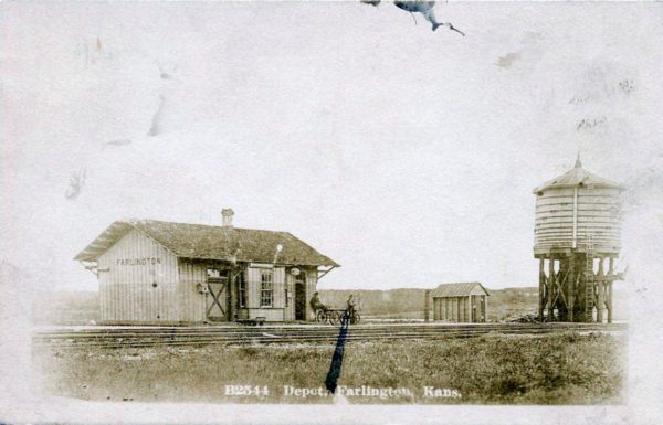 Farlington, Kansas Depot (Corrected)