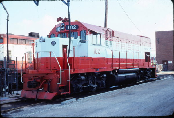 GP15-1 102 at Wichita, Kansas on September 5, 1977 (Allan Ramsey)
