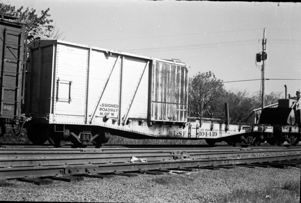 Maintenance Of Way Car 104419 (date and location unknown)