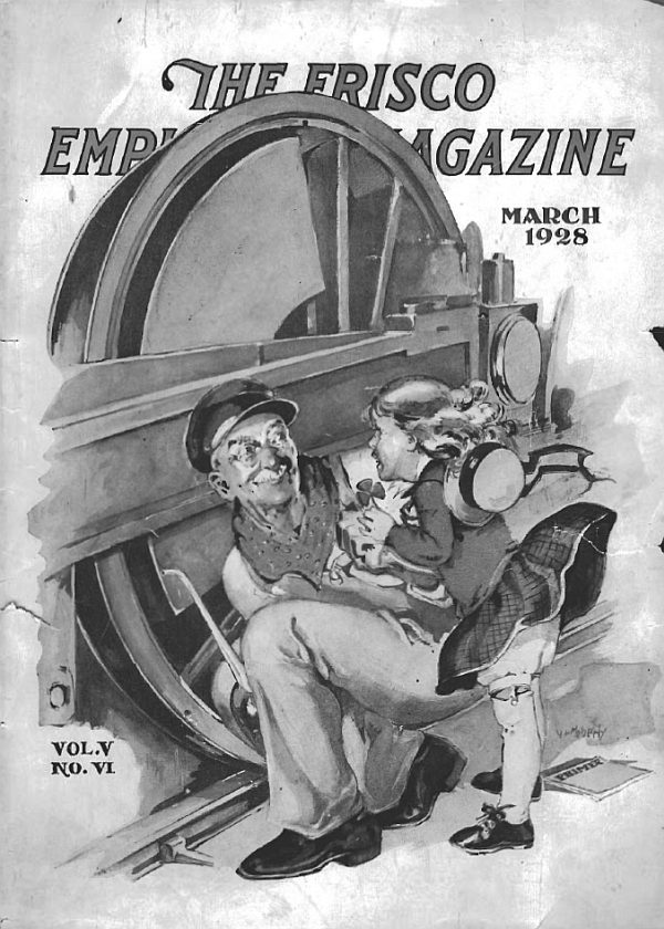Frisco Employes' Magazine - March 1928