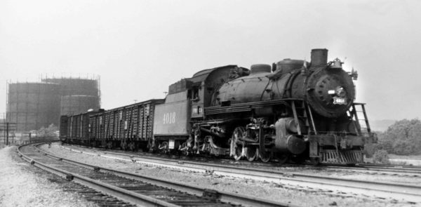 2-8-2 4018 at St. Louis, Missouri (date unknown)
