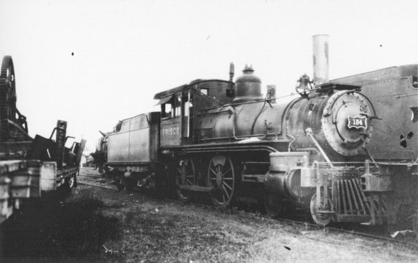 4-4-0 104 (date and location unknown) (Baldwin 1893)