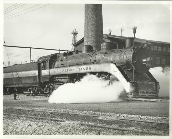 4-6-2 1060 at Oklahoma City, Oklahoma (date unknown)