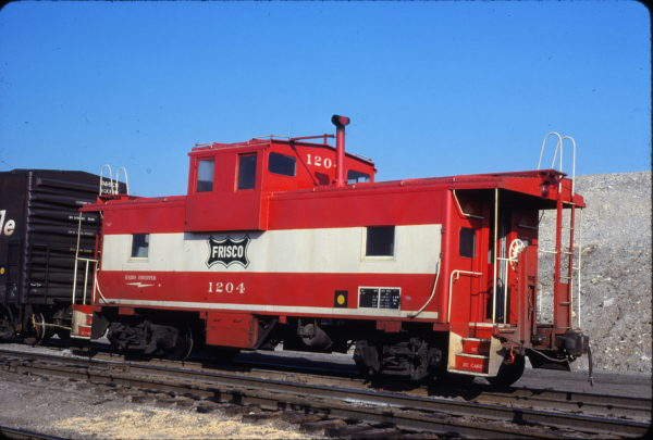 Caboose 1204 (location unknown) in October 1979