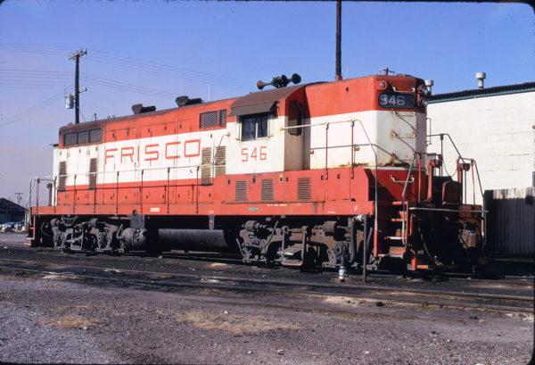 GP7 546 at Birmingham, Alabama on December 22, 1973 (W.B. Folsom)