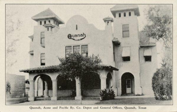 Quanah, Texas Depot
