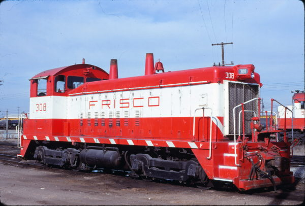 SW9 308 at Memphis, Tennessee in January 1981 (Lon Coone)