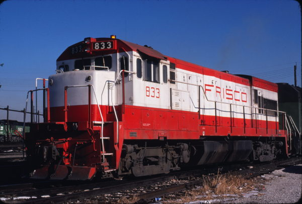 U30B 833 (location unknown) in December 1980