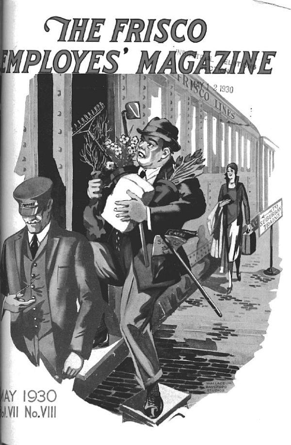 Frisco Employes' Magazine – May 1930