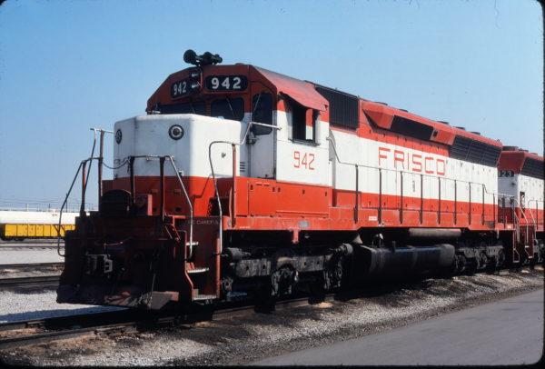 SD45 942 at Sherman, Texas on August 10, 1980 (Gene Gant)