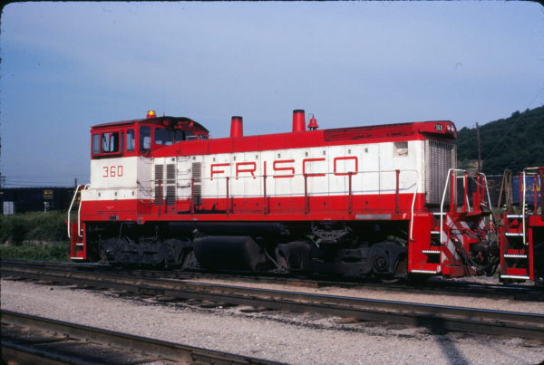 SW1500 360 at Tulsa, Oklahoma in June 1980 (Paul Wester)