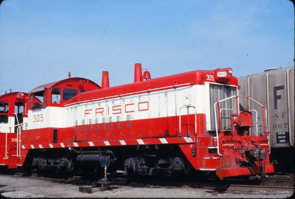 SW9 305 at St. Louis, Missouri on August 30, 1980 (Bob Graham)