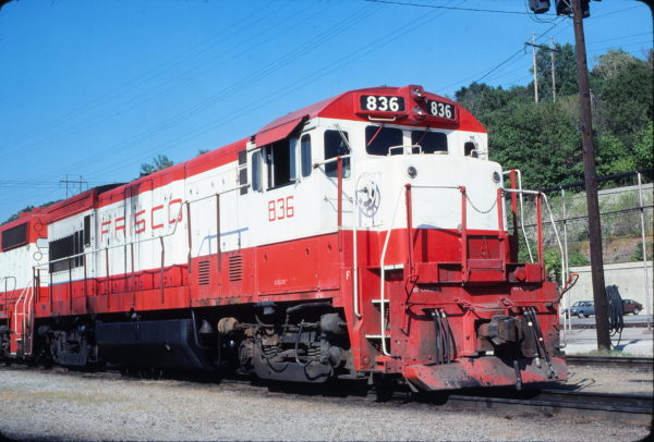 U30B 836 at Kansas City, Missouri on July 24, 1980 (Jim Wilson)
