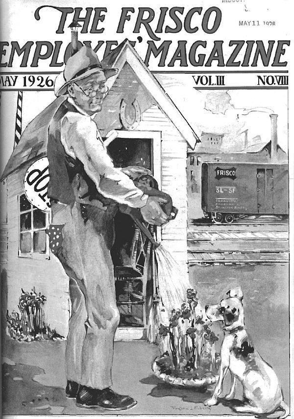 Frisco Employes' Magazine - May 1926
