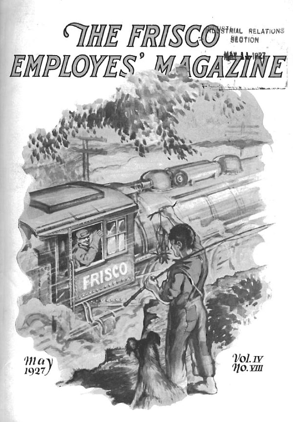 Frisco Employes' Magazine - May 1927