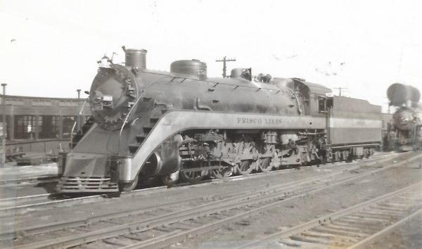 4-8-2 1503 at St. Louis, Missouri on September 22, 1938